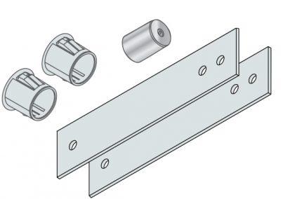Hs Door Stop Extension Plate For Egress Doors Magnasphere