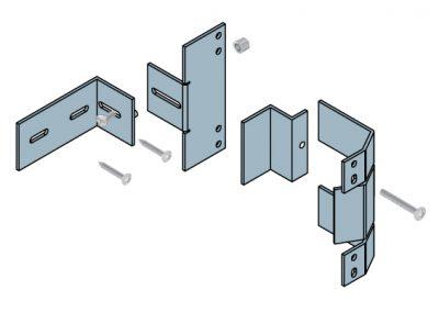 HS Overhead Door Bracket Kit
